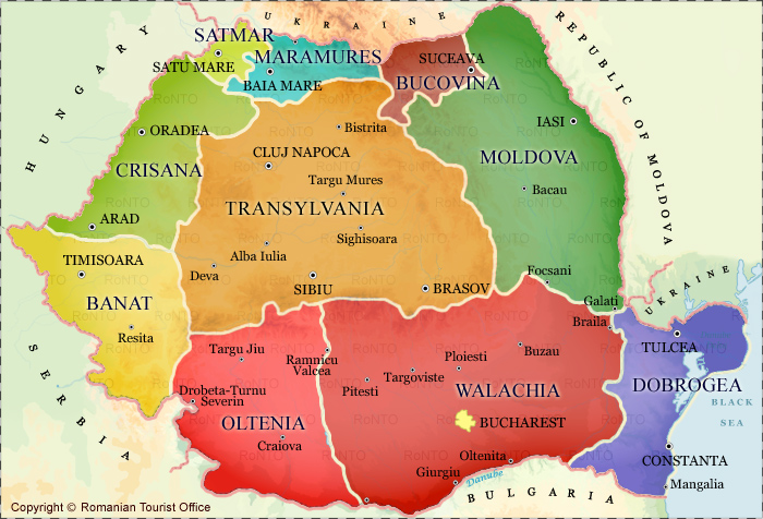 regions_of_romania