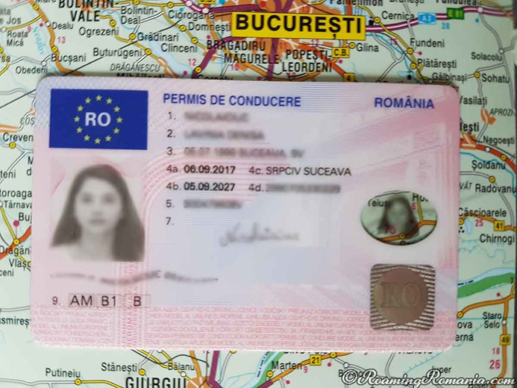 Romanian Driver's License